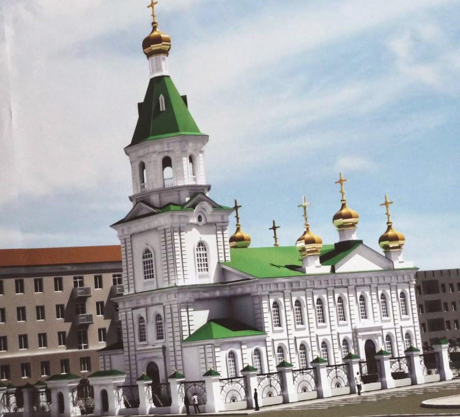 Храм в Омске