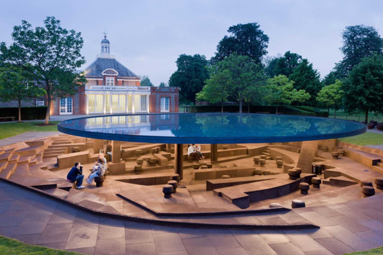 London: SERPENTINE GALLERY PAVILION 2012 by HERZOG & DE MEURON