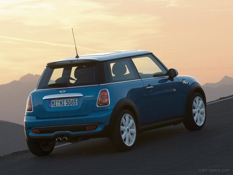 2006 mini cooper s specifications pictures prices. Black Bedroom Furniture Sets. Home Design Ideas