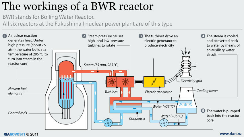 DashLB داش أل - بي The Fukushima I nuclear power plant Diagram