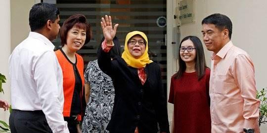 Sosok Halimah Yacob, Muslimah Pertama yang Jadi Presiden Singapura