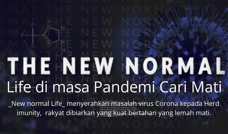 New Normal Life Ditengah Pandemi Cari Mati