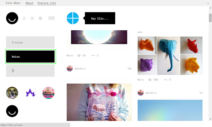 Pengalaman Menggunakan Ello: Media Sosial yang Pro Privasi