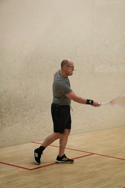 Dave Heather… preparing to crush the ball!