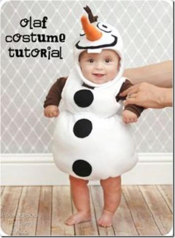 disfraz casero de Olaf de frozen (5)