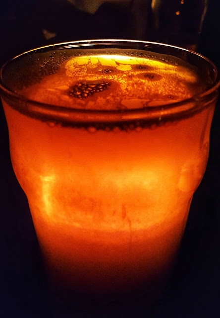 Glowing beer photo