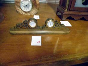 Photo: Rick's scroll sawn clock
