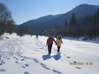 Фоторепортаж с тренинга по ньяса-йоге 12-18 февраля 2012г в Карпатах.724