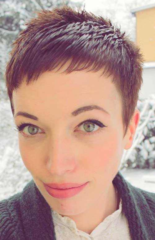 real hair hairstyles : short pixie hairstyle trends 2017 - Real Hair Cut . shweshwe sresses ...