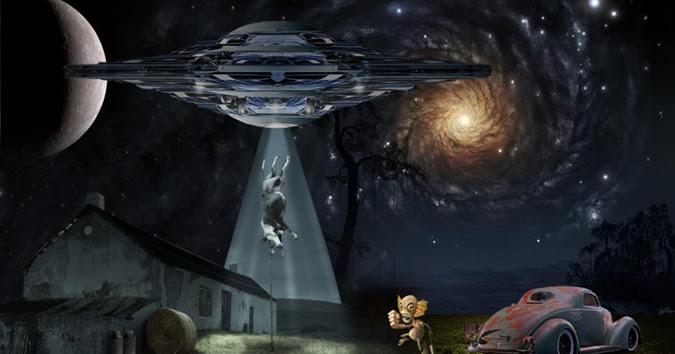 A Verdade Sobre Abduções de Gado por Extraterrestres