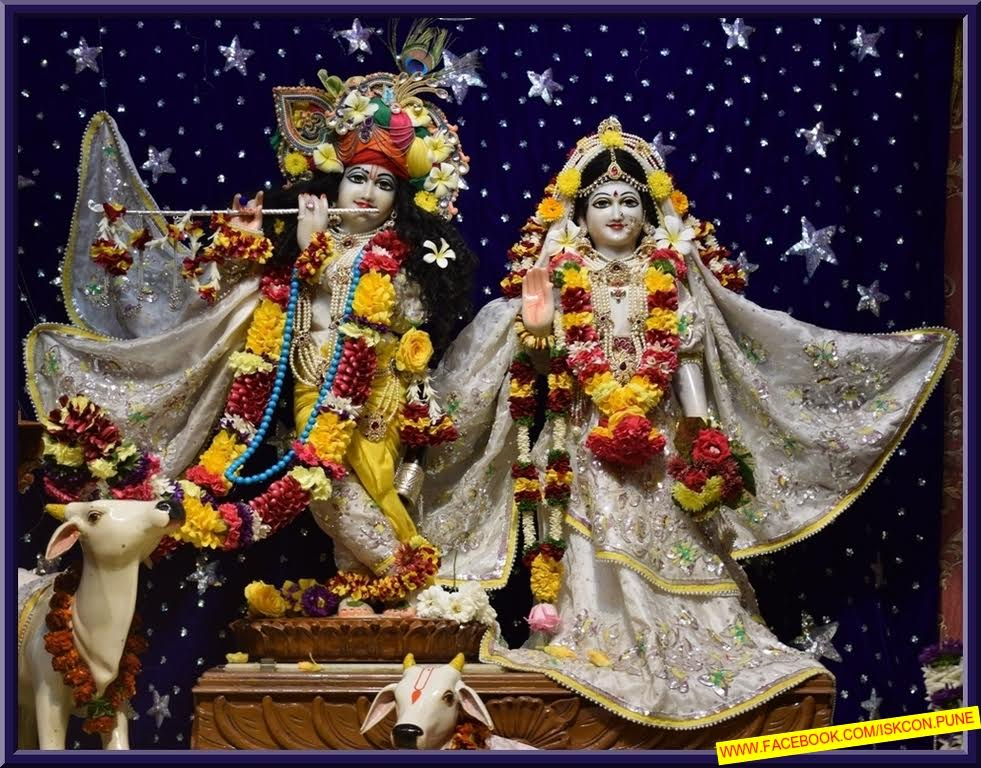 ISKCON Pune Camp Deity Darshan 11 Jan 2017 (1)