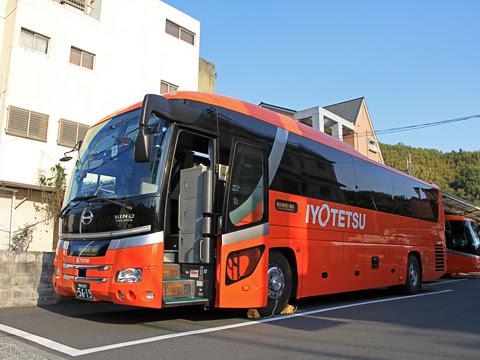 伊予鉄バス「オレンジライナー」東京線 5619 八幡浜にて_01