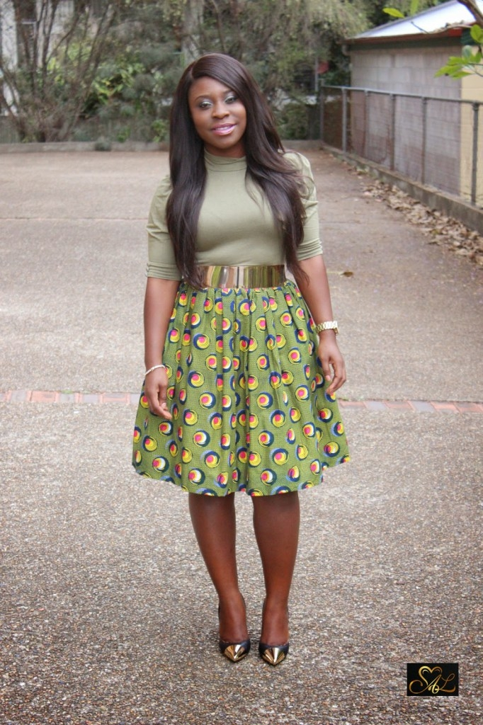 kitenge print skirts and peplum top for any event fashion 2d