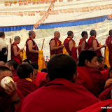 Massive religious gathering and enthronement of Dalai Lama's portrait in Lithang, Tibet. - l58.JPG