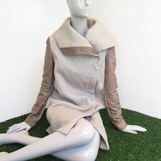 Helmut Lang Lamb Sleeve Coat