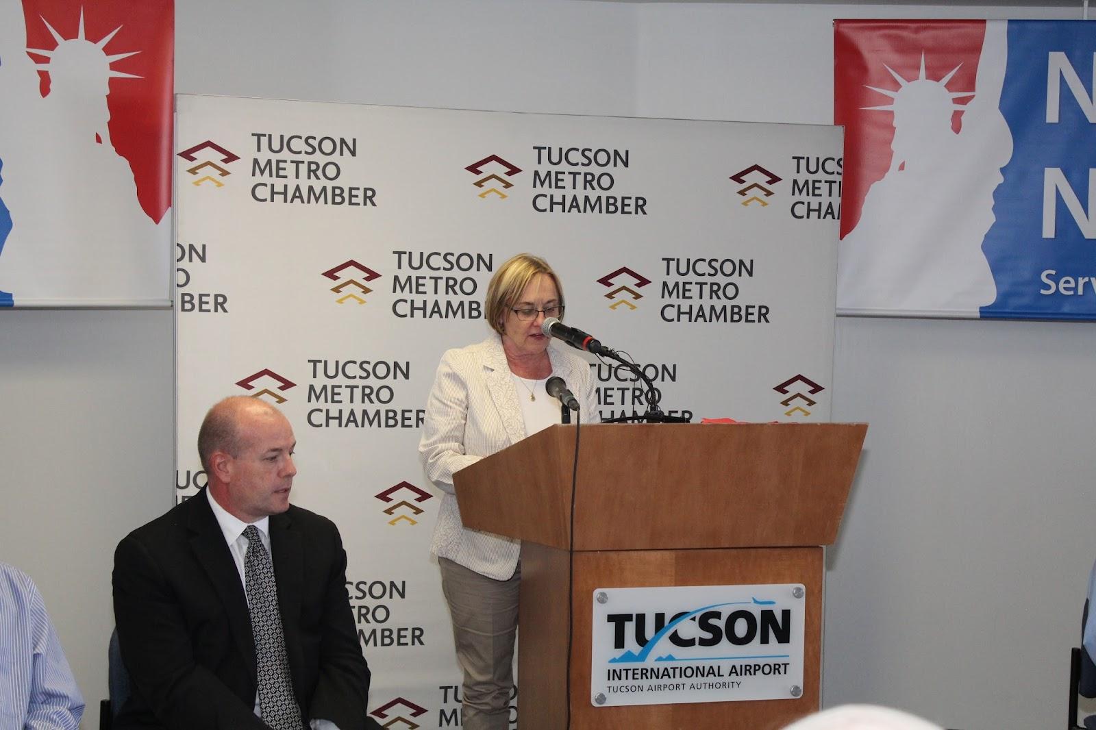 Tucson - JFK Non-Stop Route Announcement - IMG_3218.JPG