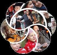 Foto-Collage für UZ Pressefest 2014.