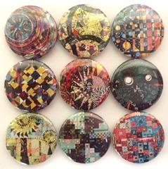 Persimon Dreams Set of 9 Magnets