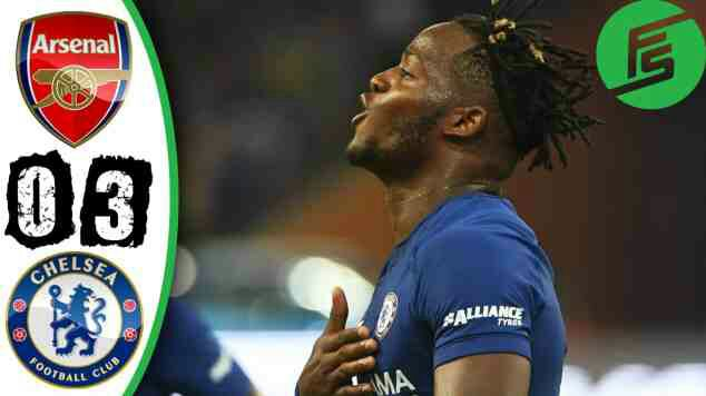 Arsenal 0 Chelsea 3: Batshuayi brilliance downs Gunners