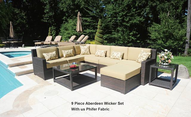 Great Aberdeen Wicker Patio Furniture