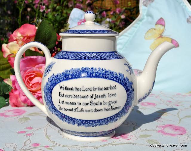 Wedgwood Replica Wesley Teapot c.1940s