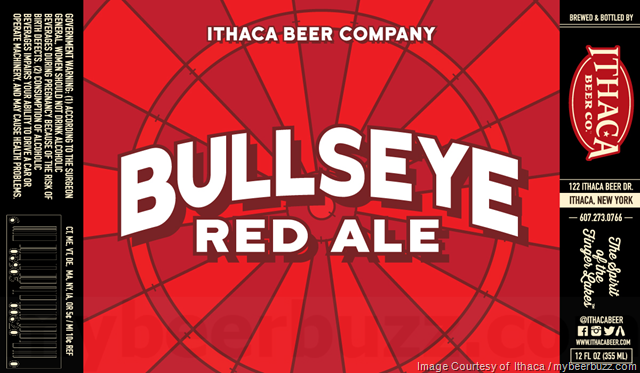 Ithaca Beer - Bullseye Red Ale