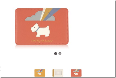 Radley Little Ray of SunShine Travel Card Holder