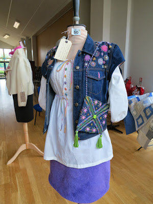 1st Prize in Quilts and Garments Section Alyssa Robinson - Market Harborough Branch