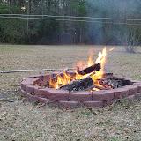A fall bonfire.