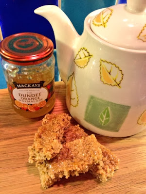 Mackays Dundee Orange Marmalade Flapjacks