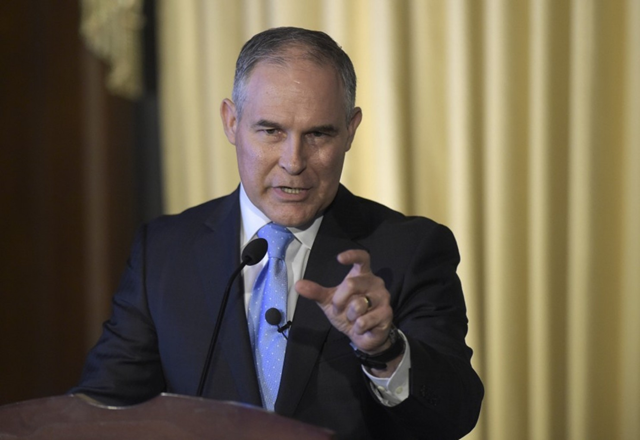 Environmental Protection Agency Administrator Scott Pruitt. Photo: Susan Walsh / AP