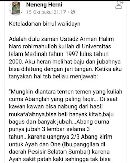 Inilah Biografi ustadz Armen Halim Naro Rahimahullah