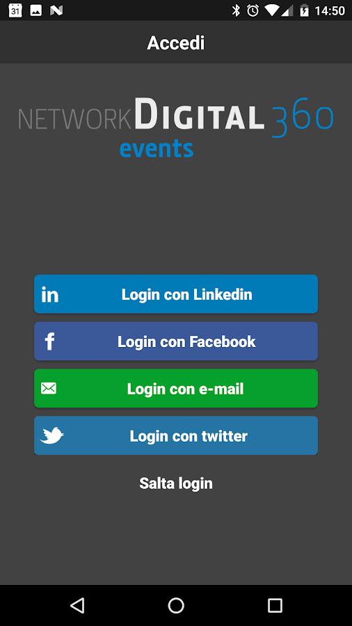 Network Digital360 - Events- screenshot
