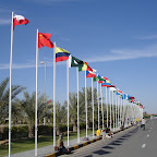 Banderas de los países participantes