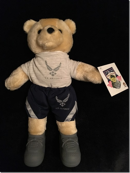 Change of Address_Michael Baldwin bear giveaway