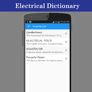 Electrical Dictionary offline App Download for Android 5