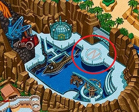 Mysterious Island map2