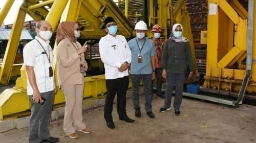 Pastikan Kesiapan Energi Untuk Investor, Wawako Padang Kunjungi PLTU Teluk Sirih.