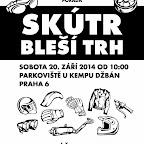 Skútr Bleší Trh 2014 + piknik - 20. září 2014