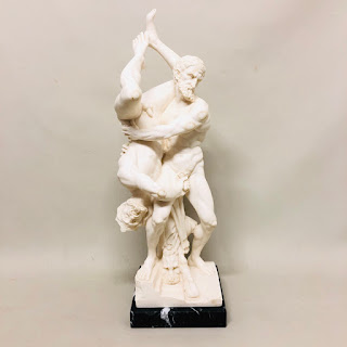 Hercules & Diomedes Reproduction Statue by G. Ruggeri