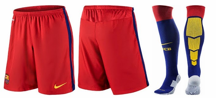 db6a1b5d15fd8 FC Barcelona 2015-16 Home Away Kits Official Released