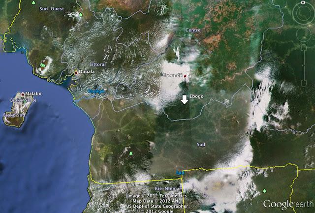 Ebogo dans le sud du Cameroun