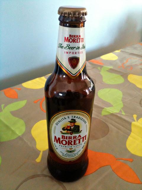 Birra Moretti Lager and La Rossa – Italian Beer