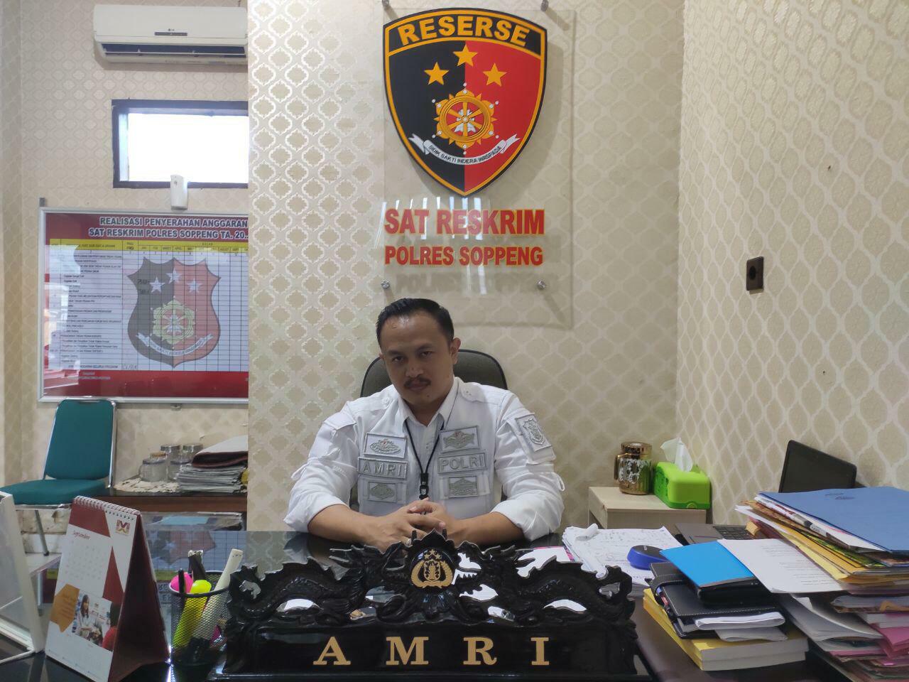 Lelaki AR Diciduk Satreskrim Polres Soppeng, Pelaku Dugaan Tindak Pidana ITE