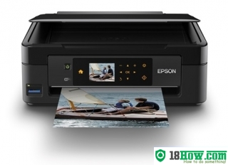 How to Reset Epson XP-413 flashing lights error