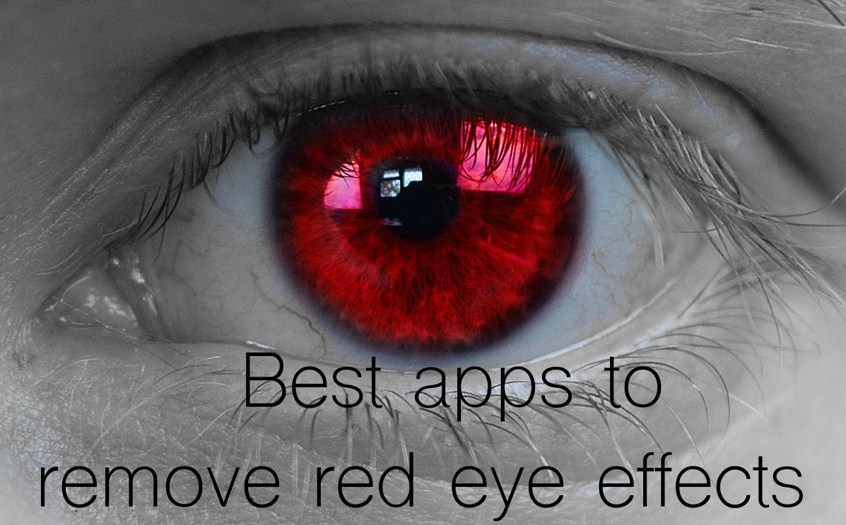 5 Best iPhone apps to remove red eye effects