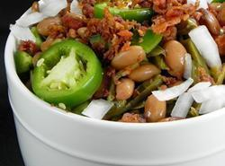 Mexican Pintos With Cactus Recipe