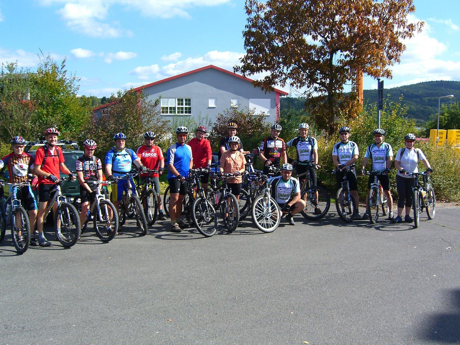Spessart-Biker Tour am 15.09.2007