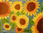 Sunflowers by Katy