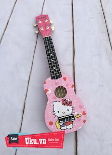 đàn ukulele hình kitty